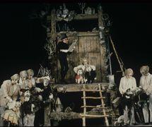 <em>Mertviye dushi</em> (Dead Souls, 1983), after Nikolai Gogol's novel, by Chelyabinskiy teatr kukol (Chelyabinsk, Russia), direction: Valery Volkhovsky, design: Elena Lutsenko. Photo: Alexander Lyskin