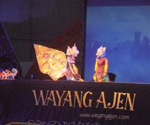 Wawan Gunawan, Indonesian puppet master (<em>dalang</em>) of <em>wayang</em> golek ajen, contemporary rod puppetry of <em>Sunda</em>, West Java. Photo courtesy of UNIMA-Indonesia. Photo: Karen Smith
