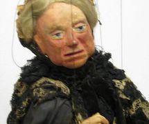 La reina Victoria (hacia 1930), títere de hilos por Yale Puppeteers (1927-1960s). Colección: The Cook / Marks Collection, Northwest Puppet Center (Seattle, Washington, Estados Unidos). Fotografía cortesía de Alan Cook