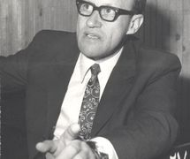 Yuri Eliseev (1922-1990), Russian actor, theatre director and playwright (photo 1960s). Photo courtesy of Archive: Sankt-Peterburgsky gosudarstvenny kukolny teatr Skazki (Saint Petersburg, Russia)